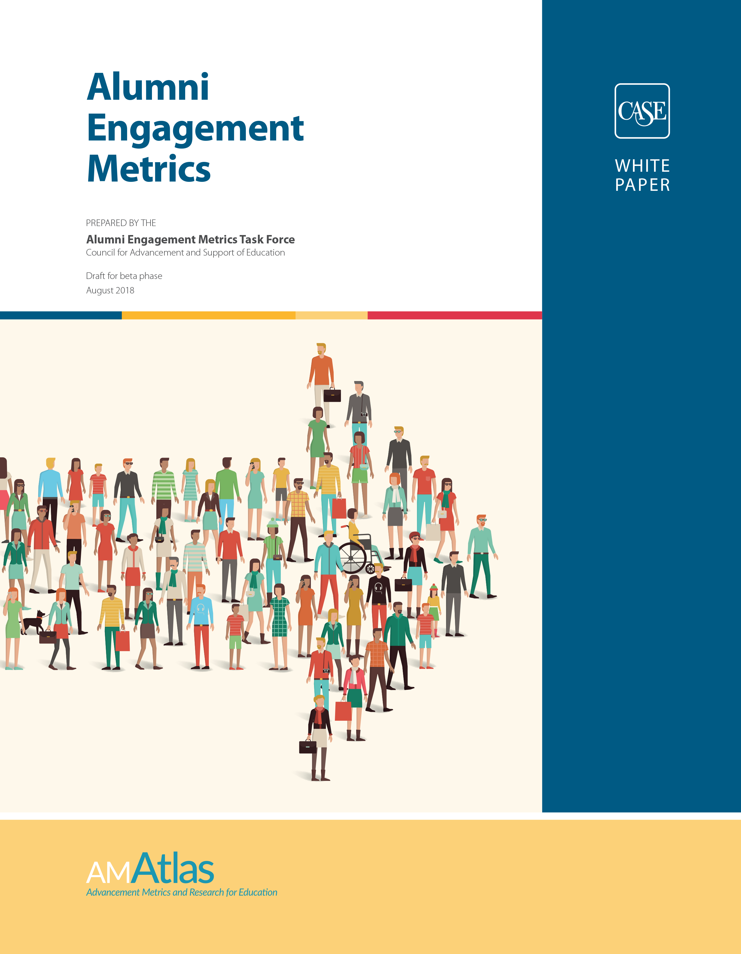 Cover image of the Alumni Engagement Metrics white paper