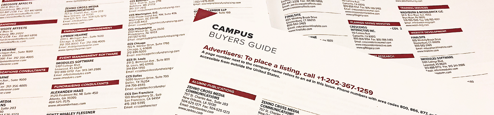 Campus Buyer's Guide