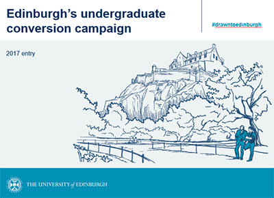 Edinburgh's undergraduate offer holder conversion campaign