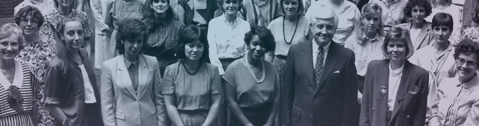 photo of CASE staff, from 1986