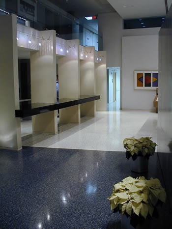 CASE Office Building Lobby View
