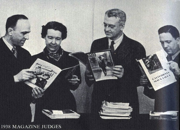 1938 Magazines Judges