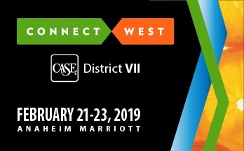 CASE District VII Connect West 2019 Banner