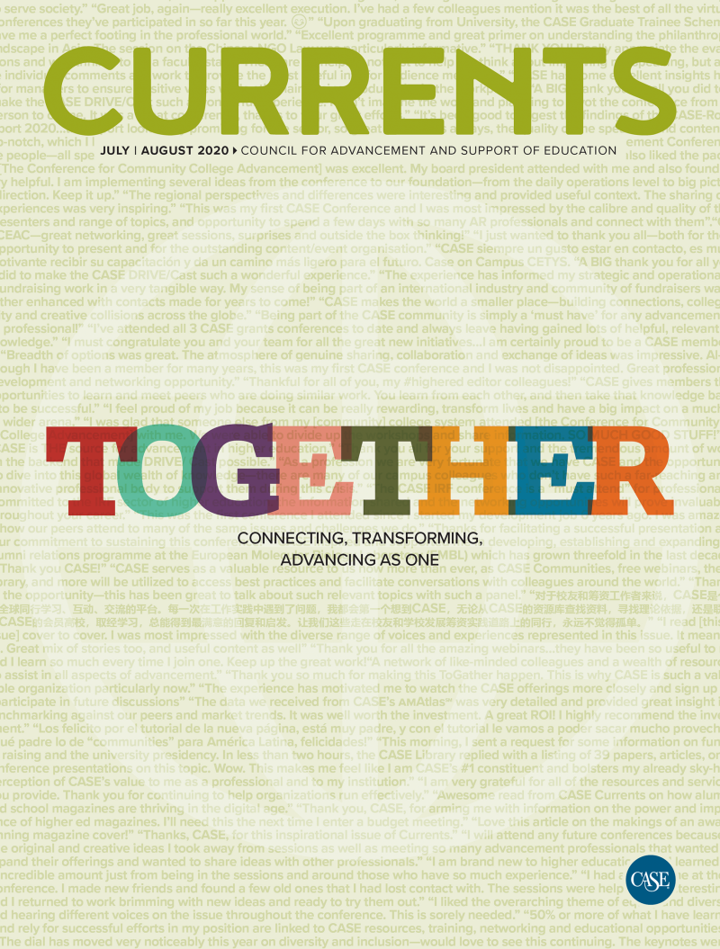July-August 2020 Currents cover image