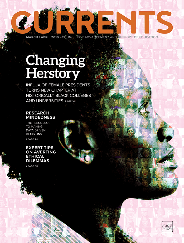 Cover image of the March-April 2019 issue of Currents