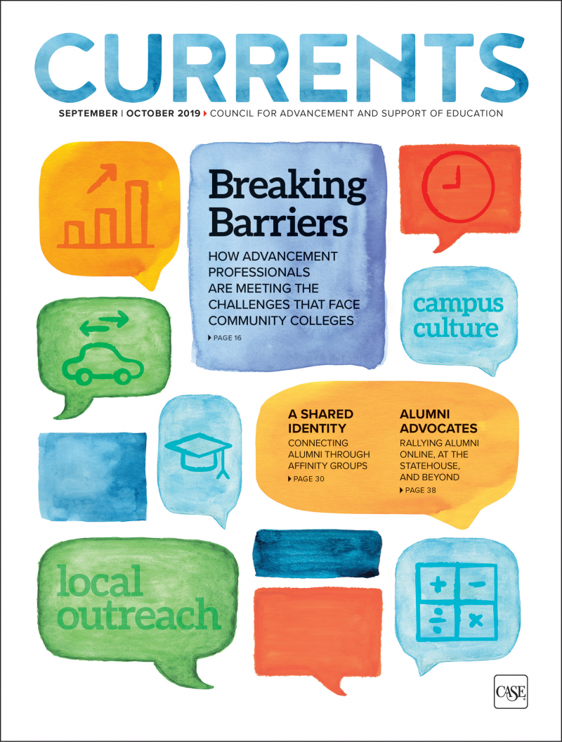 Cover image of the September-October 2019 issue of Currents