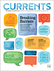 Currents September - October 2019 Cover image