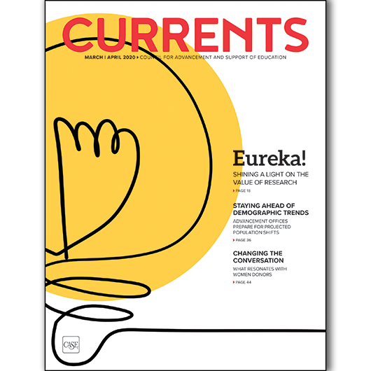 Cover of the March-April 2020 issue of Currents