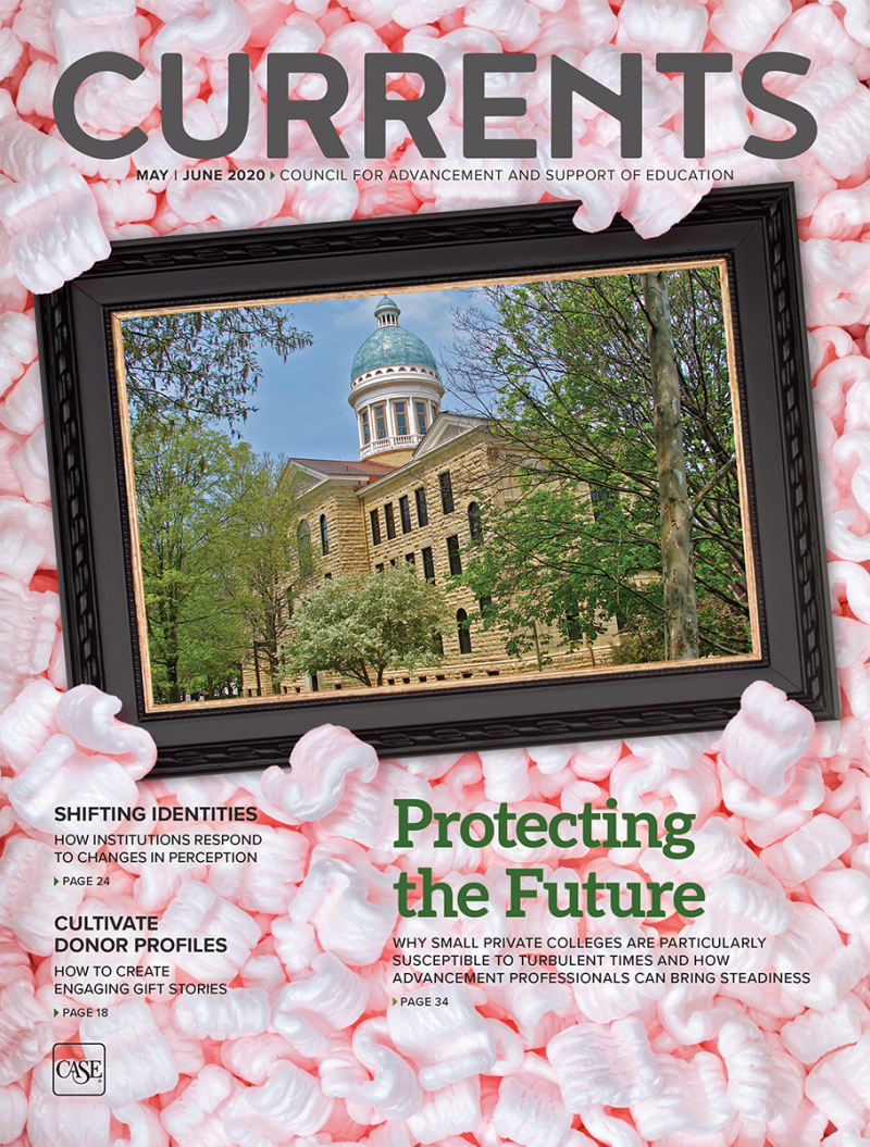 Cover image for the May-June 2020 issue of Currents