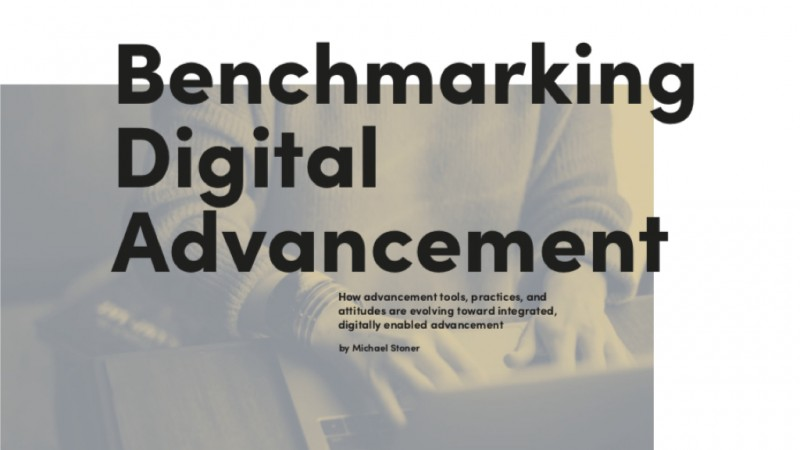 Benchmarking Digital Advancement 2018 Cover Graphic