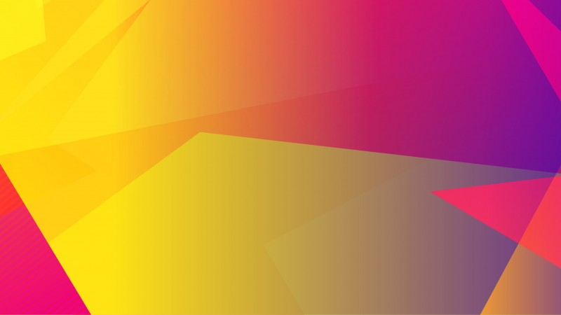 Yellow and Purple Abstract Header Image