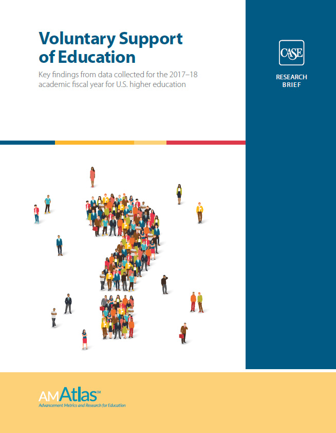 2019 CASE Support of Education Data & Research Findings Cover Image