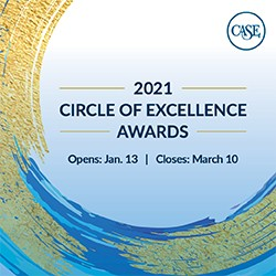 2021 Circle of Excellence Awards nominations opened from January 13 to March 10.