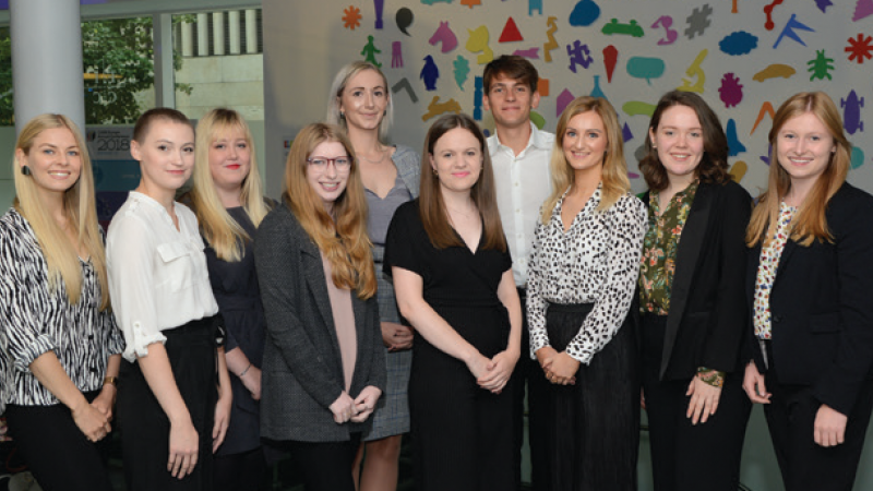 CASE Europe Educational Fundraising Graduate Trainee Scheme 2018 Group Photo